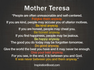 Mother Teresa Quotes Image