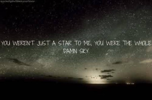 Good Celebrity Quote ~ you Weren't just a star to me , you were the ...