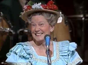 ... Minnie Pearl! Furthermore, The Minnie Pearl Cancer Foundation is also