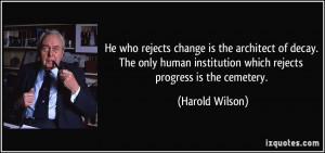 More Harold Wilson Quotes