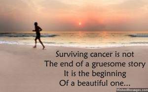 Inspirational messages for cancer survivors