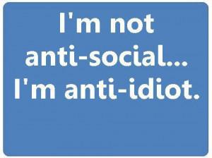 not anti-social
