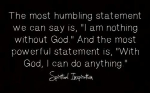 With God, I can do anything
