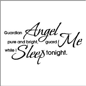 Amazon.com: GUARDIAN ANGEL....WALL QUOTES WORDS SAYINGS LETTERING ...