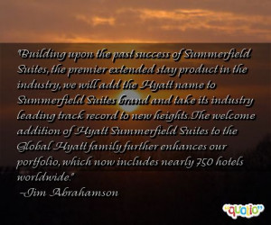 Building upon the past success of Summerfield