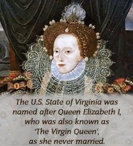 Queen Elizabeth I, the Virgin Queen