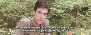 Cameron Ferris Bueller Quotes Cameron frye. i read a quote