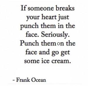 Ice cream, always good!