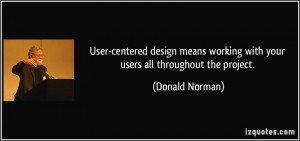 Donald Norman Quote