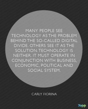 Tech Quotes: Carly Fiorina