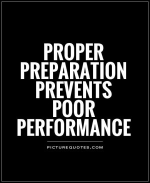 Preparation Quotes Planning Quotes Performance Quotes