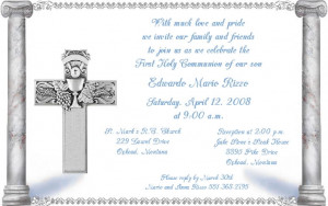 First Holy Communion invites, baby shower invitations , disney themed ...