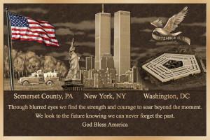 Bronze Plaques As Patriotic Tributes