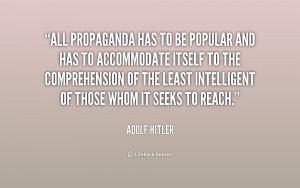 Hitler Propaganda Quotes