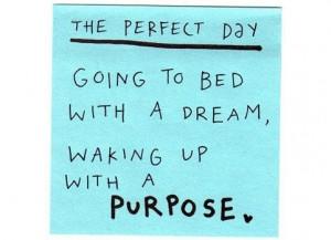 The secret to success is constancy to purpose ~ Benjamin Disraeli
