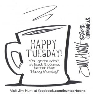 happy tuesday that feels like a monday. There is little difference in ...
