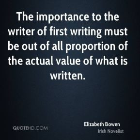 More Elizabeth Bowen Quotes