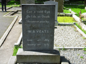 Do I understand the meaning of W B Yeats' epitaph?