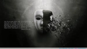 "All of us wear masks…""-Sarah Connor motivational inspirational ..."