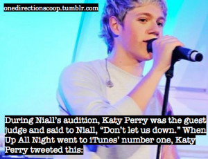 Niall Horan X Factor Quotes