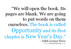 New Year's Day Quote & wishes