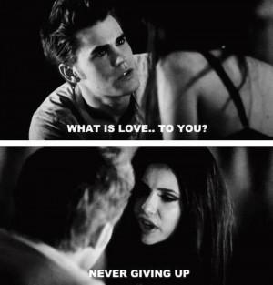 Description: The Vampire Diaries Quotes ♥