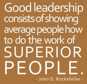 Good Leadership Leadership Quotes