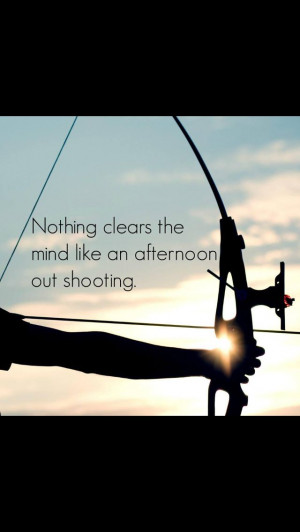 Archery ... It's true :)
