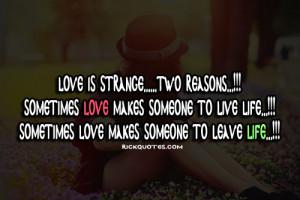 Love Quotes | Love Is Strange | We Heart It