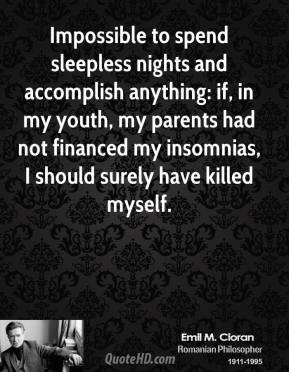 Quotes About Sleepless Nights