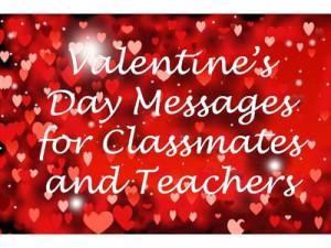 School Valentine's Day Messages