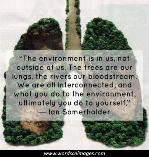 Environmentalist quotes