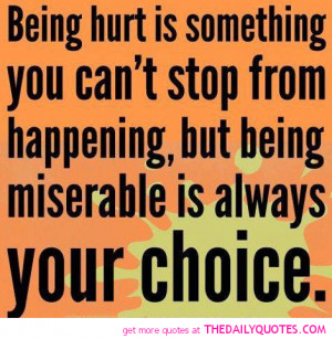 being hurt quote pictures choice pics good sayings quotes Depressing ...