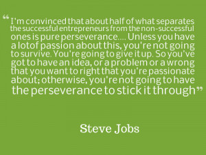 ... who better to start things off than the legend himself, Steve Jobs