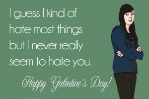 the secret life of us.: galentine's day April Ludgate