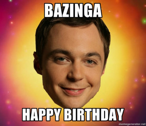 Happy Birthday Big Bang Theory