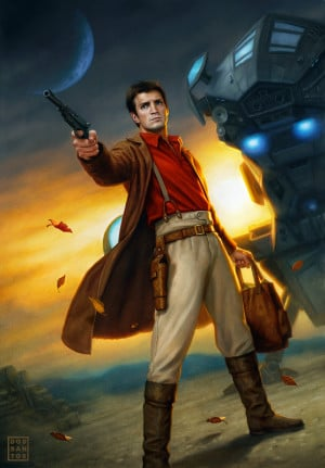 Captain Malcolm Reynolds by Dan dos Santos - Firefly Art, Nathan ...