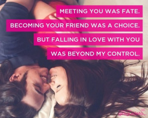 Falling in love #quote