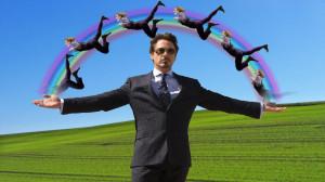 iron man the joker funny rainbows tony stark robert