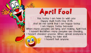 Quote For April Fool's Day