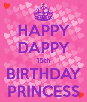 Happy Birthday Princess...
