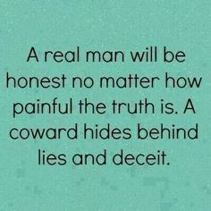 Yup. How hard is it to tell the truth?