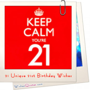 21st birthday is a very special birthday especially for americans ...