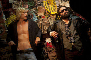 Johnny Galeckistars as Terry Ork and Taylor Hawkins stars as Iggy Pop ...