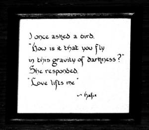 hafiz #love #poems #birds