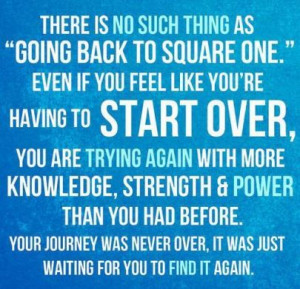 Starting Over or Trying Again?
