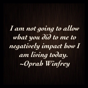 My favorite quote by Oprah !!