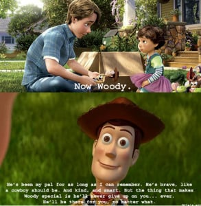 Have you ever watched Toy Story? There are so many life lessons to be ...