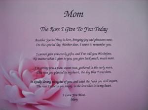 deceased mother birthday poems