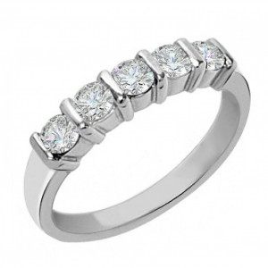 Diamond Cut Wedding Bands